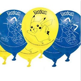 Balloons-Latex-Pokemon-6pk