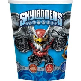 Cups-Skylander-Paper-9oz-6pk - Discontinued