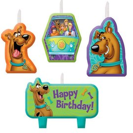 Candles- Scooby-Doo-4pk
