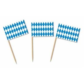 Flag Picks-Oktoberfest-50pkg-2.5""