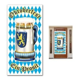 Door Cover-Plastic-Oktoberfest-1pkg-5ft