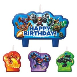 Candles-Skylanders-4pk (Discontinued)