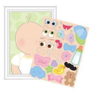 Activity Sheet Game-This Baby Looks Like-1pkg