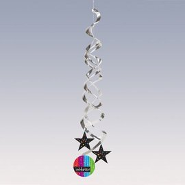 Danglers-Foil Swirl-Milestone Celebrations-2pkg-36""