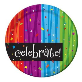 Plate-LN-Milestone Celebration-8pkg-Paper - Discontinued