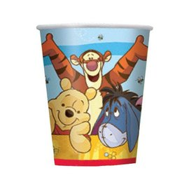 Cups-Winnie the Pooh-8pk-Paper - Discontinued