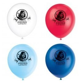 Balloons-Latex-Star Wars-8pk