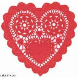Doilies-Heart-Red-3.5''-28pk