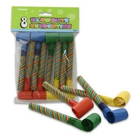 Blowouts- Striped Multi Color- 8pk