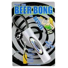 Beer Bong-Single Bottle-1pkg