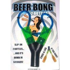 Beer Bong-2 Bottles-1pkg