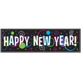 Banner-Giant-New Year-Metallic-5ft