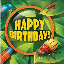 Napkins LN-Bug-Eyed Bday-16pk - Discontinued