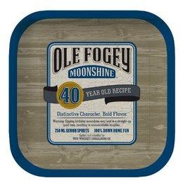 Plates-BEV-Ole Fogey 40th-8pkg-Paper