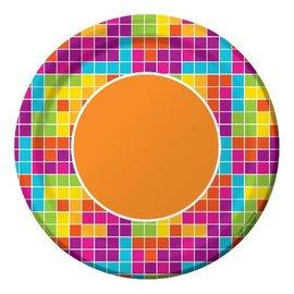 Plates-BEV-Get Nerdy-8pkg-Paper - Discontinued