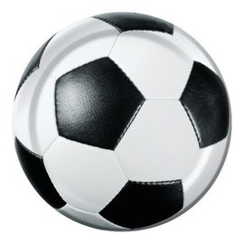 Plates-BEV-Soccer Fanatic-8pkg-Paper