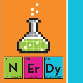Napkins BEV-Get Nerdy-16pkg-2ply - Discontinued