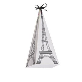 Favor Boxes-Cone-Party in Paris-8pkg-Paper
