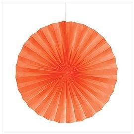 Paper Fan- Orange-16''