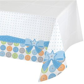 Tablecover-Rectangle-Cute as a Button Boy-Plastic - Discontinued