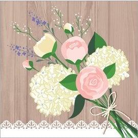 Napkins-BEV-Rustic Wedding-16pkg-2ply (Discontinued)