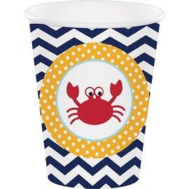 Paper Cups-Ahoy Matey-8pkg- - Discontinued