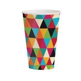 Paper Cups-Birthday Kraft-8pkg-12oz- Discontinued