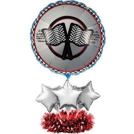 "Centerpiece Kit-Balloon-Racing Fanatic-1pkg-24""x18''"