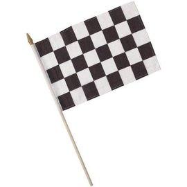 Flag-Race Car-8''x12''