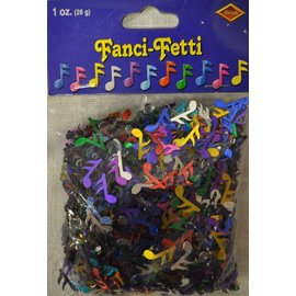 Confetti- Musical Notes-28g