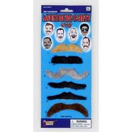Costume Accessory-Moustache Set-6pkg