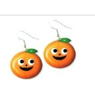 Accessorys-Pumpkin Earrings-1pkg