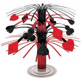 Cascade Centerpiece-Cards - Casino-7.5''