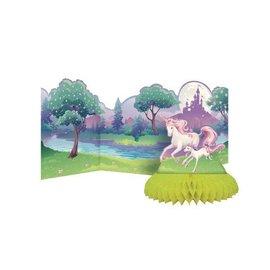 "Centerpiece-Honeycomb-Unicorn Fantasy-1pkg-27"""