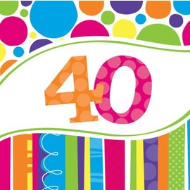 Napkins-LN-Bright and Bold 40th-16pkg-2ply
