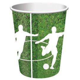 Paper Cups-Soccer Fanatic-8pkg-9oz