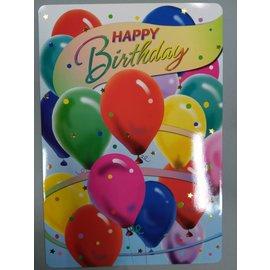 "Jumbo Card-Happy Birthday-1pkg-24""x17"""