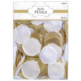 Fabric Confetti-Rose Petals-Gold-300pk