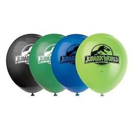 Balloon-Latex-Jurassic World-12''-8pk
