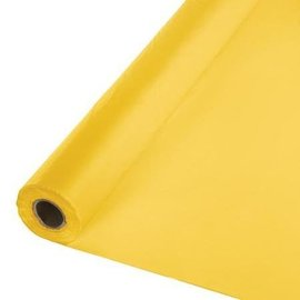 Table Roll-School Bus Yellow-100ft-Plastic