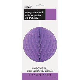 Honeycomb Ball-Purple-Paper-8''