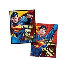 Invitations-Superman-8pk