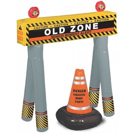 Old Zone-Barricade Kit-10.5 in. X 3.7 in