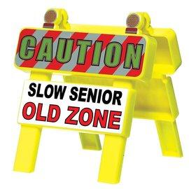 Old Zone-Mini Barricade-4.5'' x 4.25''