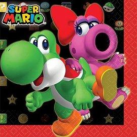 Napkin-BEV-Super Mario-16pk-2ply
