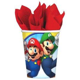 Cups-Super Mario-Paper-9oz-8pk