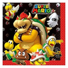 Napkins-LN-Super Mario-16pk-2Ply