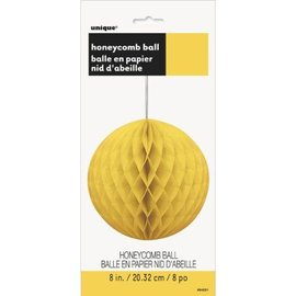 Danglers-Honeycomb Ball-Yellow-8''