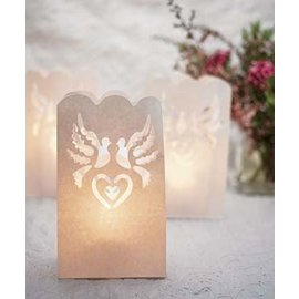 Luminaries bags - Wedding-12pk/11''