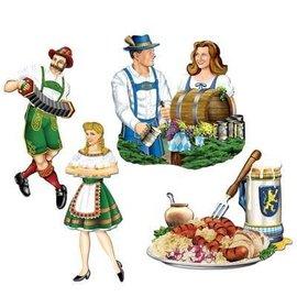 """Cutouts-Oktoberfest-4pkg-13.25""""-16.25"""""""